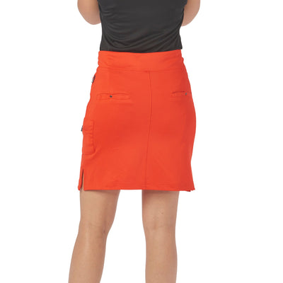 Nancy Lopez Club Skort Fiery Red