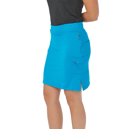 Nancy Lopez Golf Club Skort Peacock