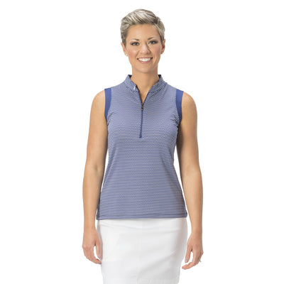 Nancy Lopez Golf Flex Sleeveless Polo