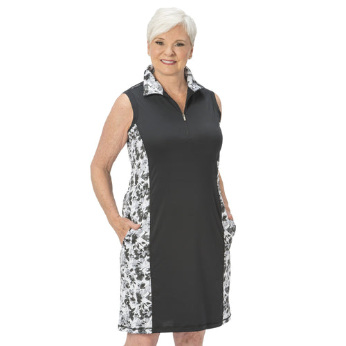 Nancy Lopez Glimmer Dress Black Multi