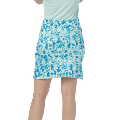 Nancy Lopez Glimmer Print Club Skort Mist Multi