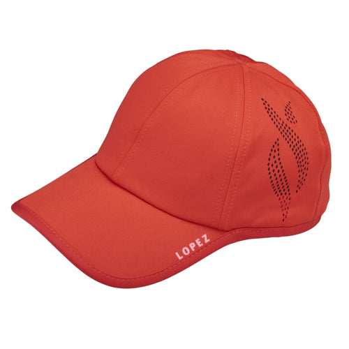 Nancy Lopez Global Hat Fiery Red