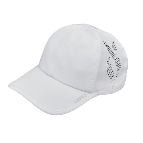 Nancy Lopez Global Hat White