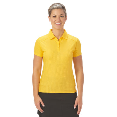 Nancy Lopez Golf Grace Short Sleeve Polo
