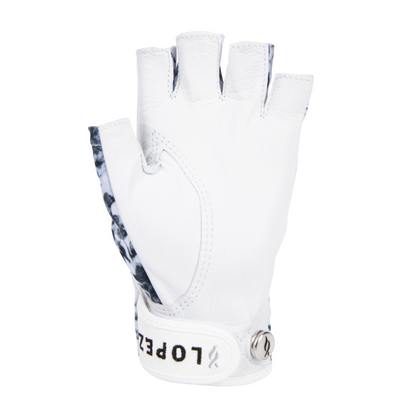 Nancy Lopez Golf Half Finger Glimmer Glove