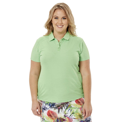 Nancy Lopez Journey Short Sleeve Polo Plus