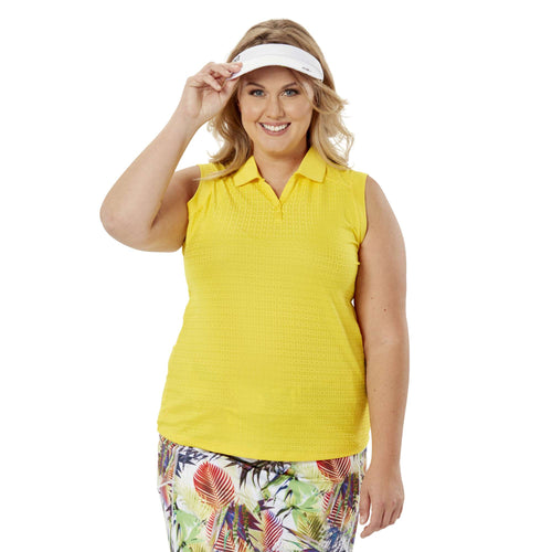 Nancy Lopez Journey Sleeveless Polo Plus