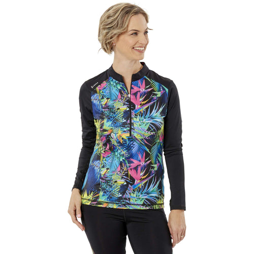 Nancy Lopez Joy Pullover Black Paradise