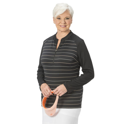 Nancy Lopez Joy Pullover Black Multi