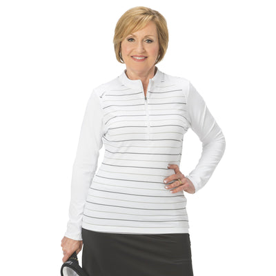 Nancy Lopez Joy Pullover White Multi