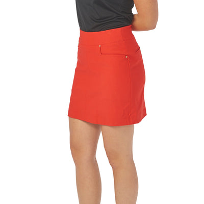 Nancy Lopez Pully Skort Fiery Red
