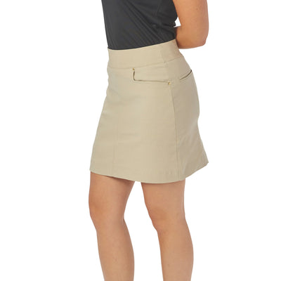 Nancy Lopez Pully Skort Khaki