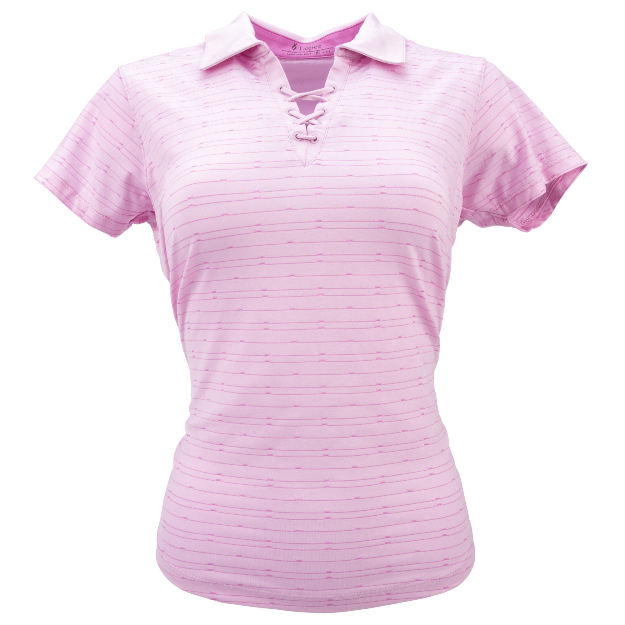 Nancy Lopez Tempo Short Sleeve Polo Plus Cameo Multi