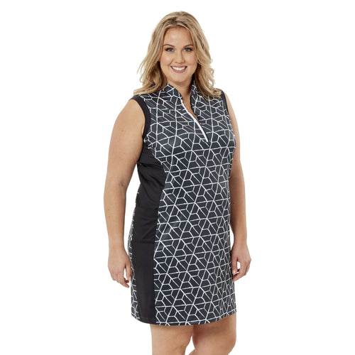 Nancy Lopez Vixen Dress Black Multi
