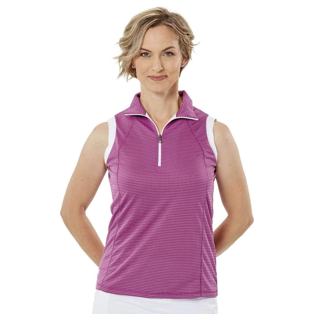 Nancy Lopez Zone Sleeveless Polo