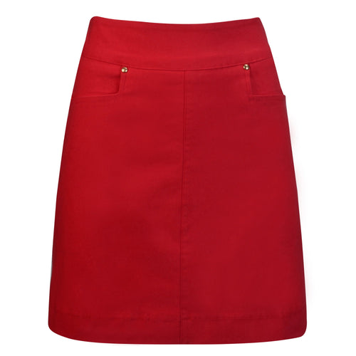 Nancy Lopez Pully Skort Plus Fiery Red