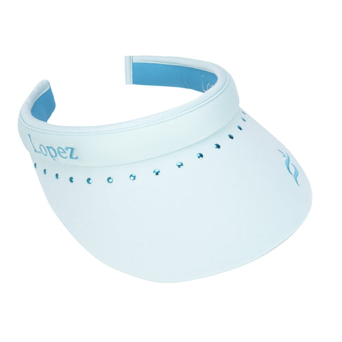 Nancy Lopez Club Reverse Clip Visor Mist/Peacock