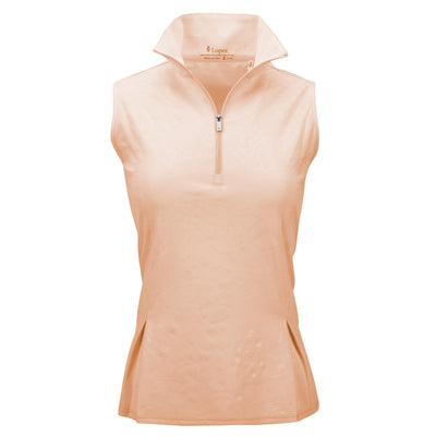 Nancy Lopez Shine Sleeveless Polo Plus Buff