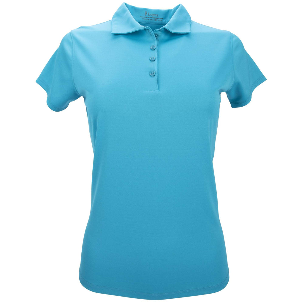 Nancy Lopez Legacy Short Sleeve Polo Plus Teal