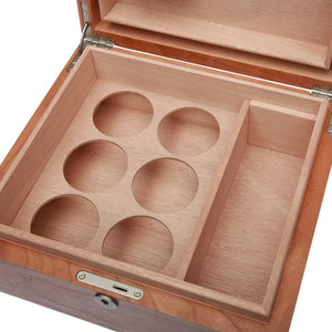 Cannador Humidor - Deluxe Dry Herb Storage - 6 Jar - Refined UK