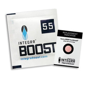 Integra Boost Humidity Pouch - 8 gram / 55% RH - Pack of 10 - Refined UK
