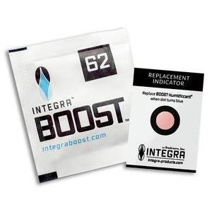 Integra Boost Humidity Pouch - 8 gram / 62% RH - Pack of 10 - Refined UK