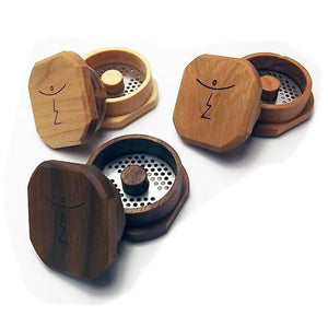 Magic Flight Finishing Grinder - Walnut - Handmade - Fine Cutting - Refined UK