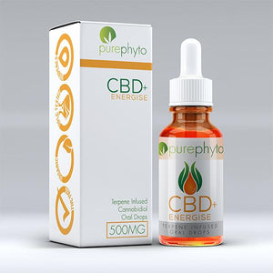 PurePhyto - CBD Energise Tincture - Sativa 500mg - Refined UK