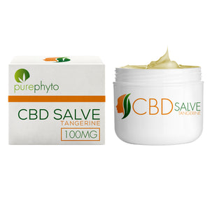 PurePhyto - CBD Salve - Tangerine - 100mg Topical Cream - Refined UK