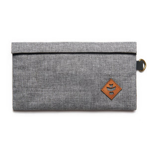 Revelry Supply - The Confidant - Crosshatch Grey - 100% Odour Proof / Water Proof - Refined UK