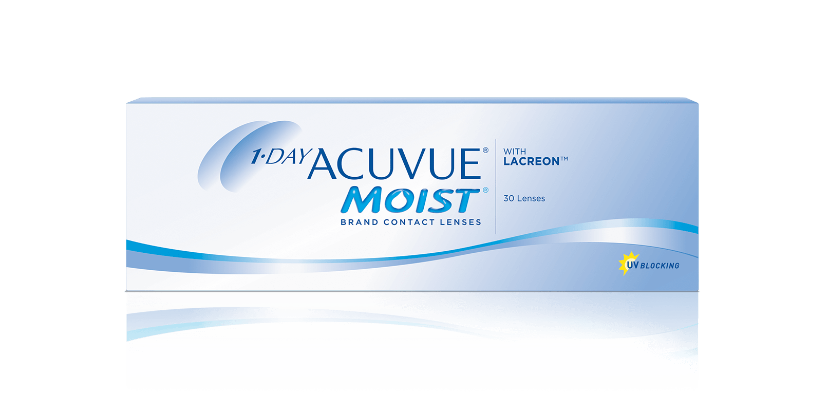 1-Day Acuvue® Moist con LACREON™