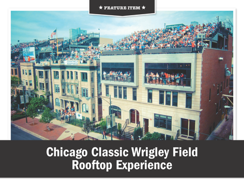 Chicago Classic Wrigley Field Rooftop Experience