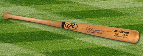 Andre Dawson Autographed Rawlings Big Stick Baseball Bat