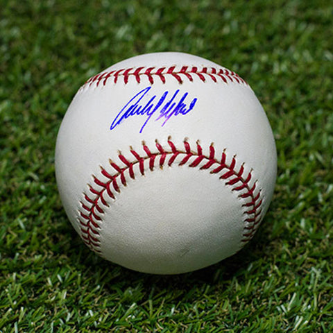 Carlos Delgado Autographed MLB Official Major League Baseball Toronto Blue Jays