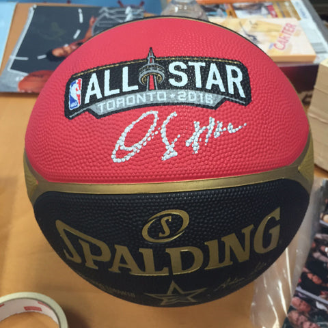 DeMar DeRozan Autographed 2016 Toronto NBA All Star Game Basketball