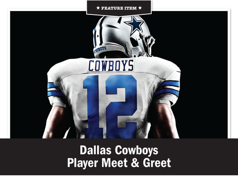 Dallas Cowboys Player Meet & Greet