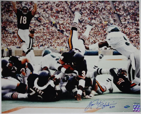 Bears Walter Payton '16,726' Signed Authentic 16X20 Photo Steiner Hologram & COA