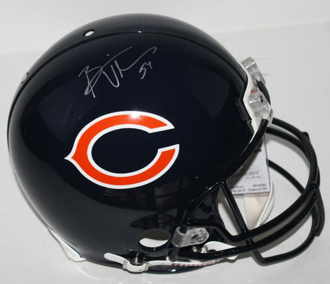 Bears Brian Urlacher Signed Authentic Full Size Helmet Autographed PSA/DNA