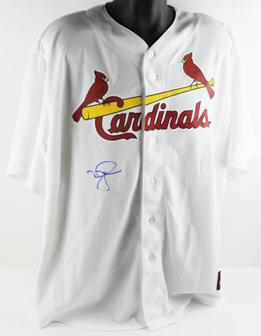 Cardinals Mark Mcgwire Authentic Signed Jersey Autographed PSA/DNA