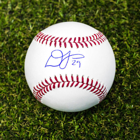Devon Travis Autographed MLB Official Major League Baseball - Toronto Blue Jays