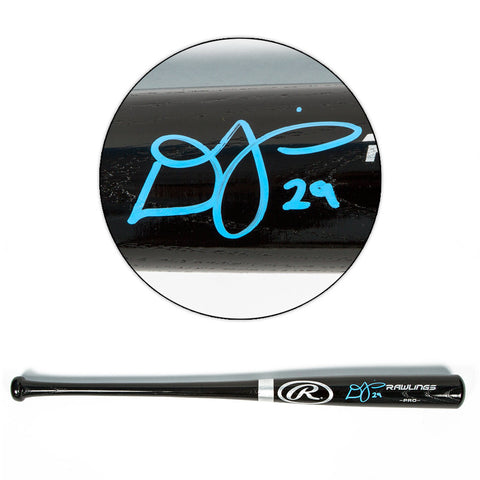 Devon Travis Autographed Rawlings Big Stick Model Baseball Bat - Toronto Blue Jays