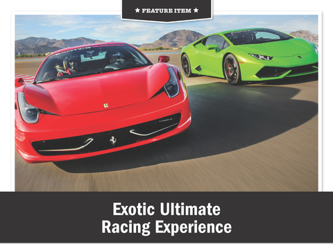 Exotic Ultimate Racing Experience