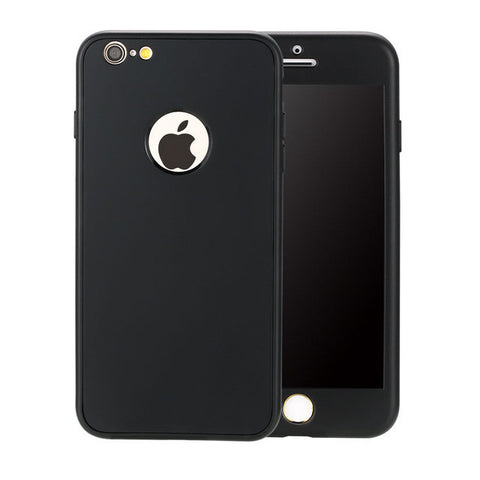 Black Cover For iPhone 7 6 6s Plus