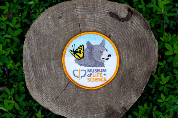 Museum of Life and Science Logo Patch