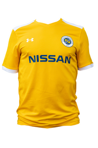 size 40 b23f2 3f38a Nashville SC Under Armour 2019 Youth Replica Jersey (Gold)