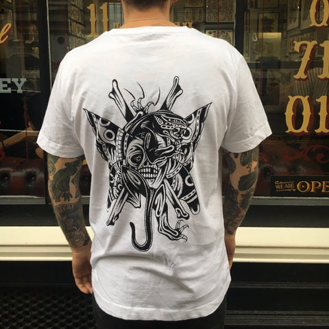 Cloak and Dagger Tattoo 4th Birthday Tee by Hugh Sheldon