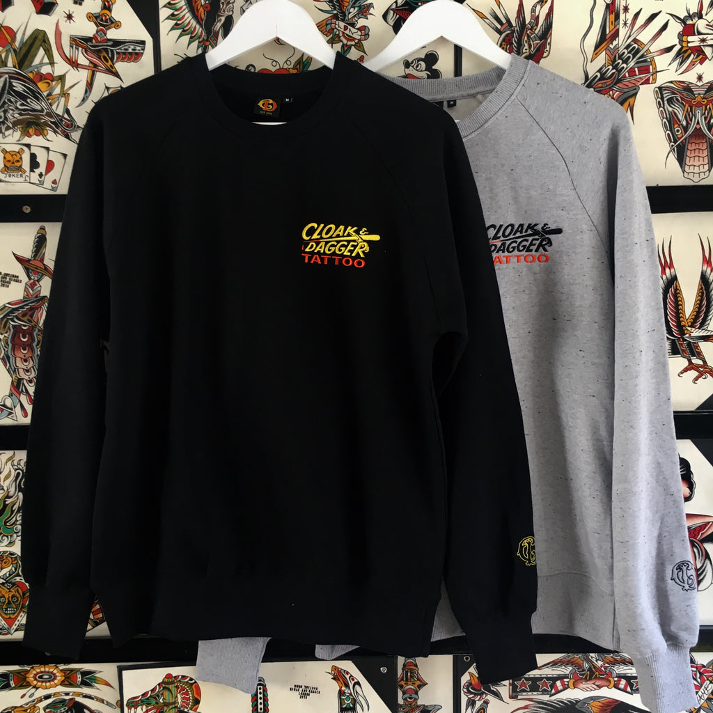 Cloak and Dagger Tattoo Pocket Logo Sweatshirt