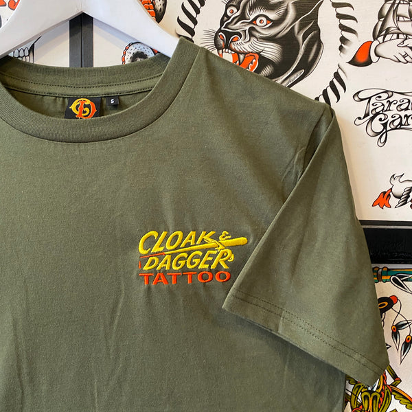 Cloak and Dagger Pocket Logo T-shirt