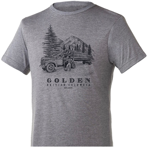 GoldenBC LoggingTruck T-Shirt