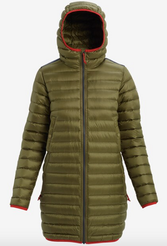 Burton Evergreen Long Down Jacket (Womens)